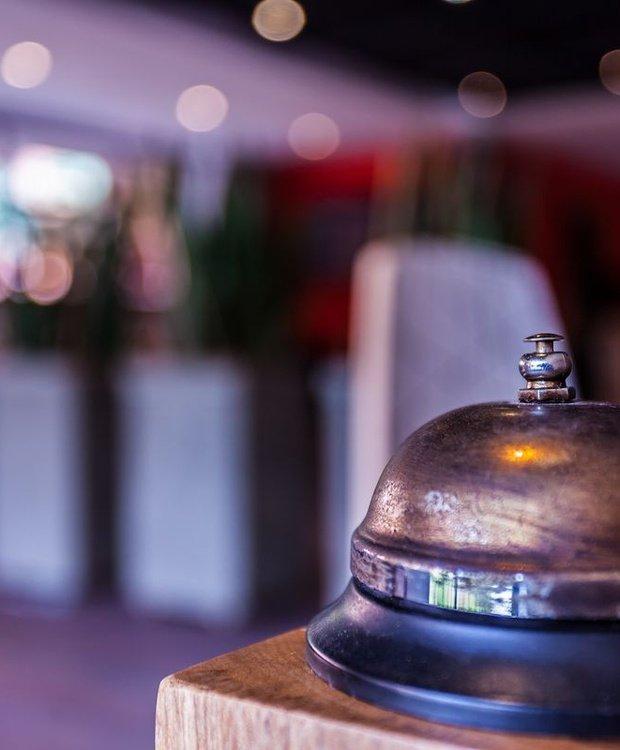 Recepción Hotel Mika