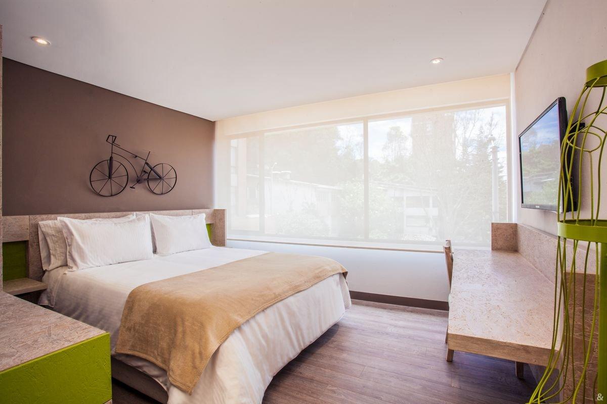 Hotel Mika Web Oficial Hotel En La Zona Financiera Bogot  # Muebles Un Kuarto Bogota